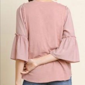 Umgee Tops - Umgee Dusty Rose Blouse